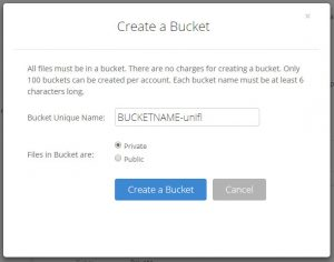 Backup UniFi Controller - Backblaze B2 - kallelilja com